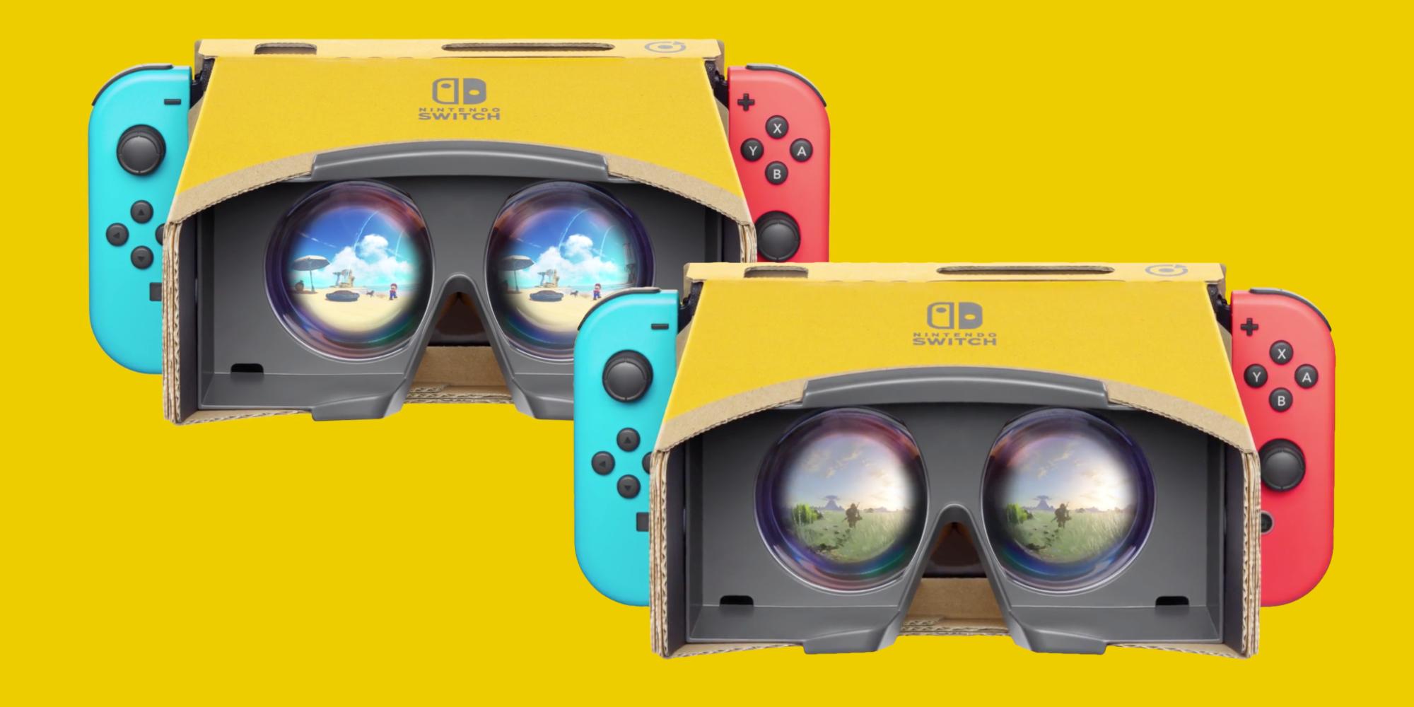 Nintendo Labo VR Mario Zelda