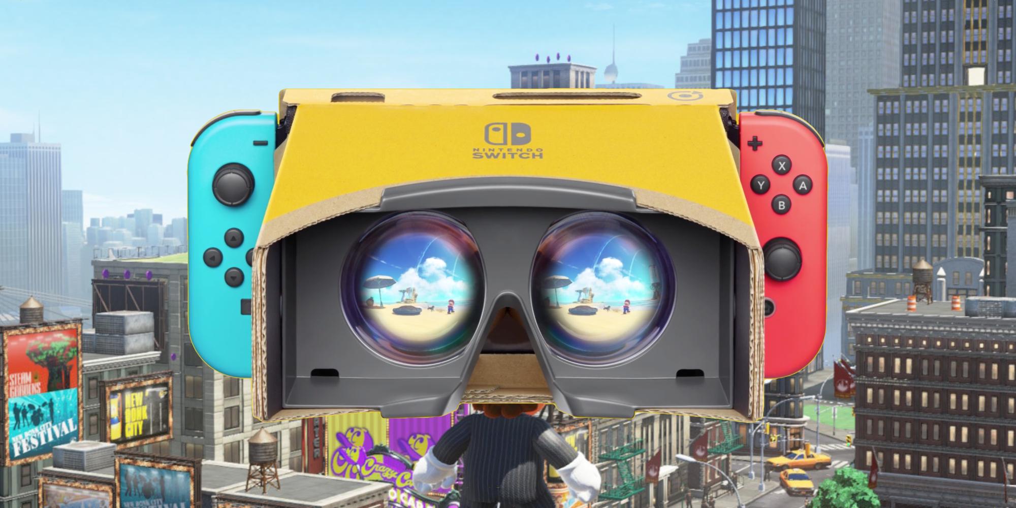 Nintendo Labo VR Mario