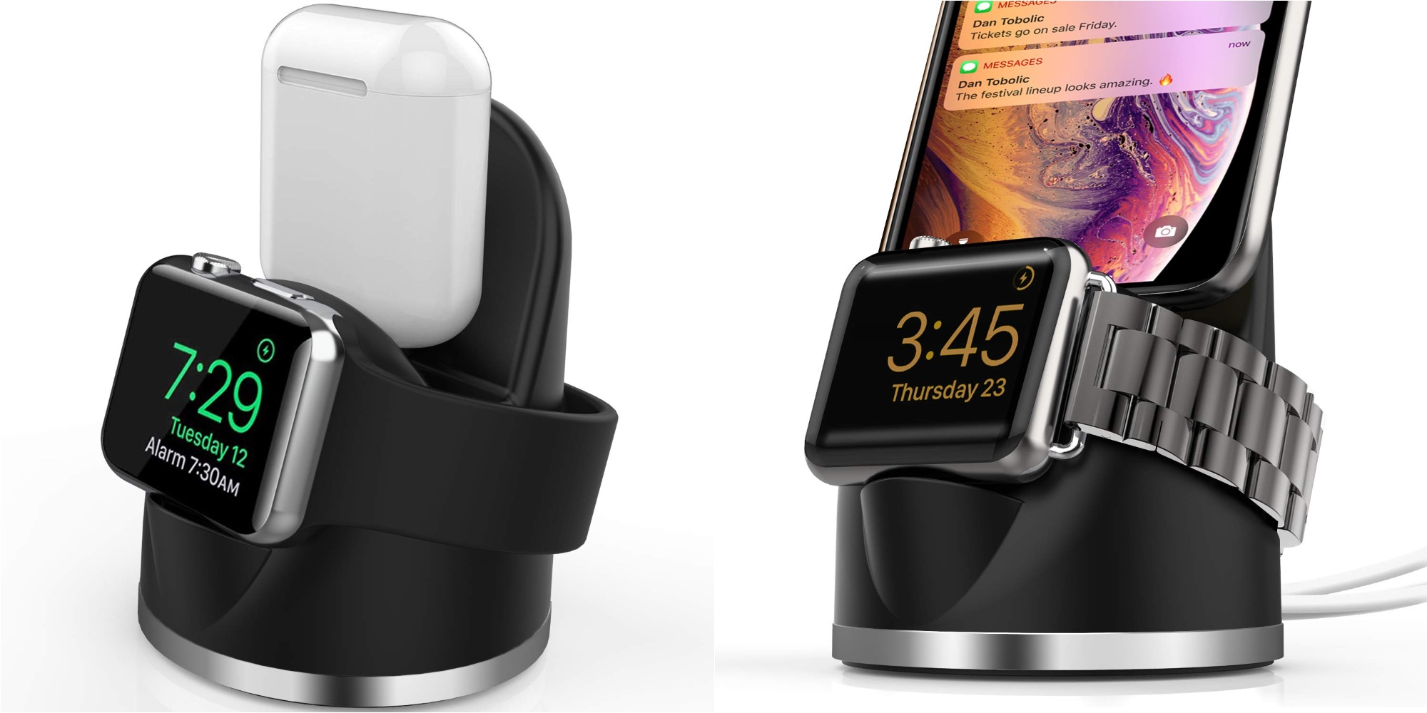 This highly-rated $12 Prime shipped charging stand powers your iPhone + Apple Watch (40% off)