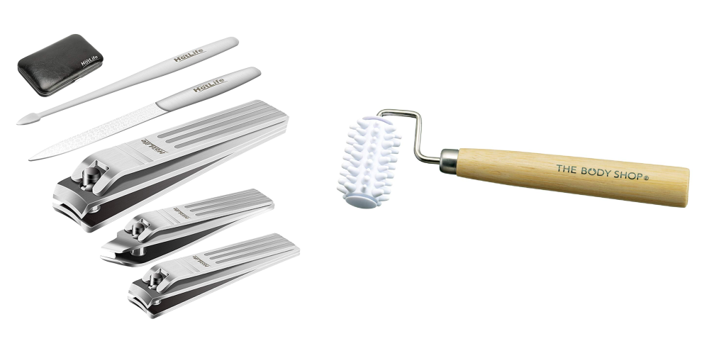 at home spa tools for nails and face