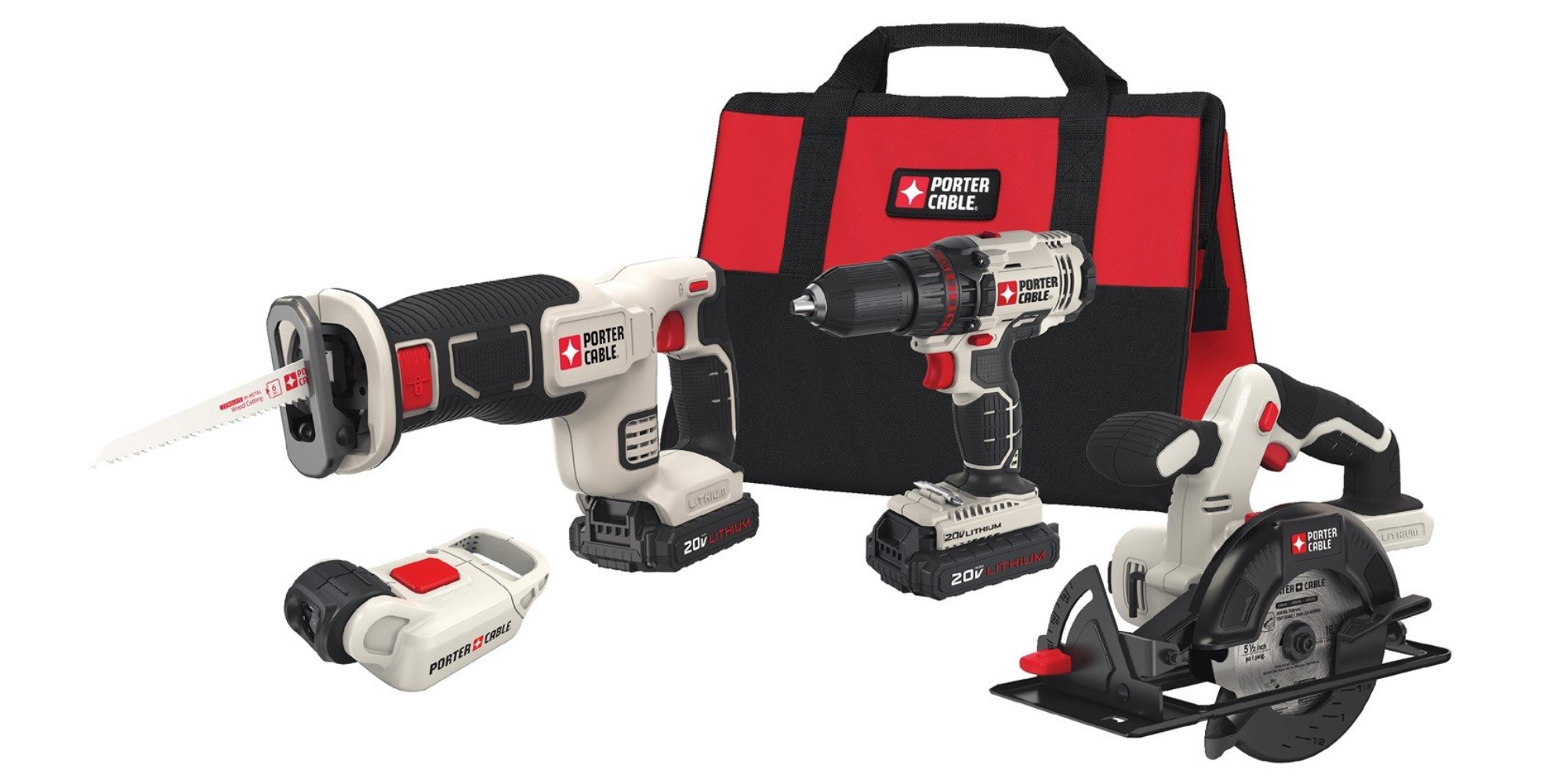 Deck out your home improvement kit with PORTER-CABLE's $129 Four-Tool Combo Set (Reg. $179)
