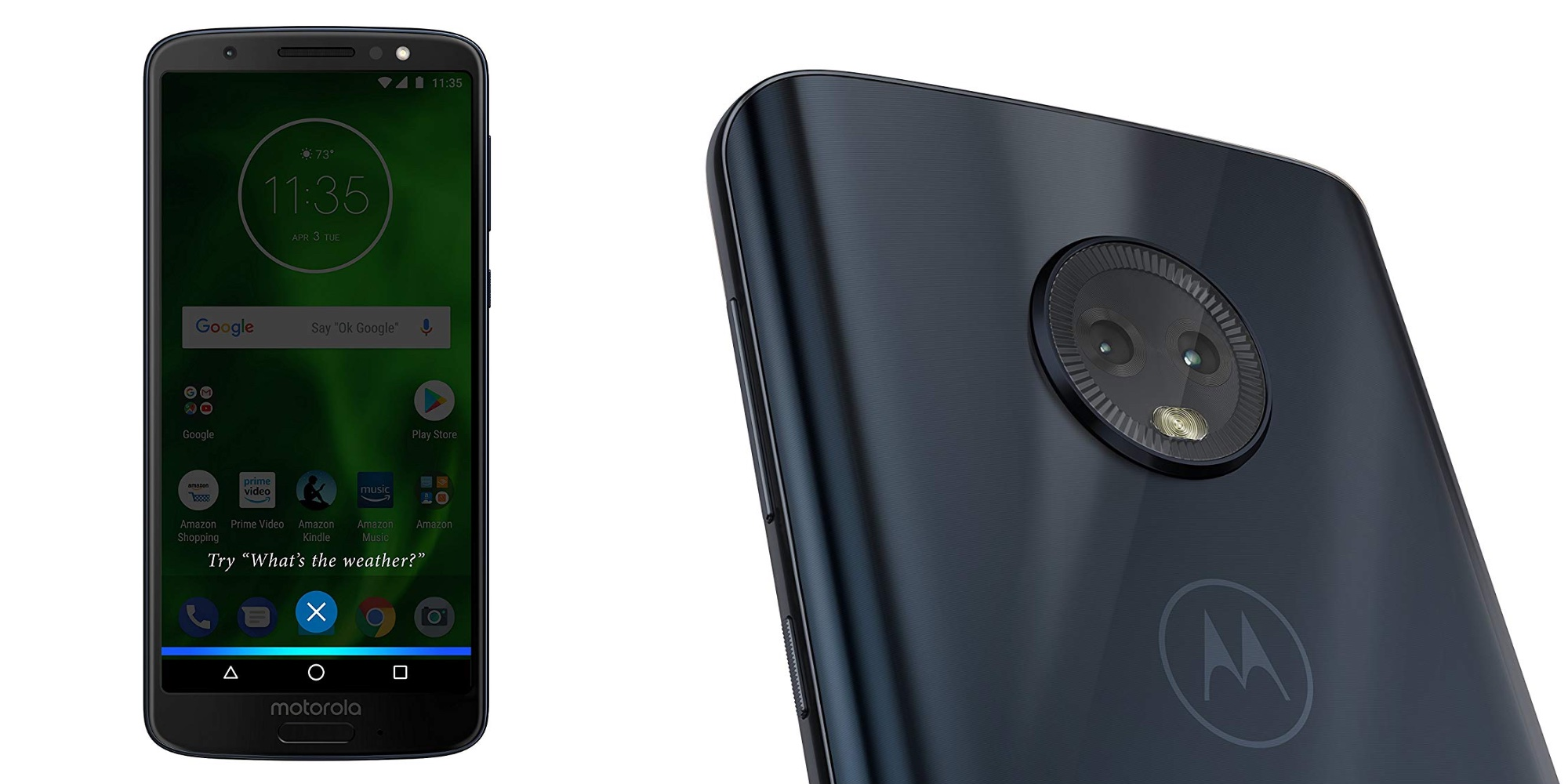 Lock in a 20% discount on Amazon's Prime Exclusive Moto G6 Smartphone at $160 shipped
