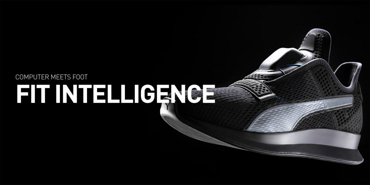 Puma Fit Intelligence self-lacing shoes