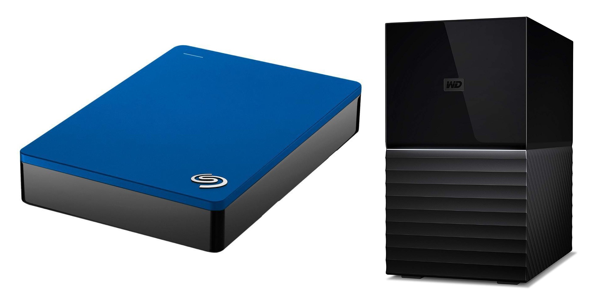 Seagate's 5TB Portable Hard Drive drops to $100 (20% off) + $100 off the WD 16TB My Book Duo