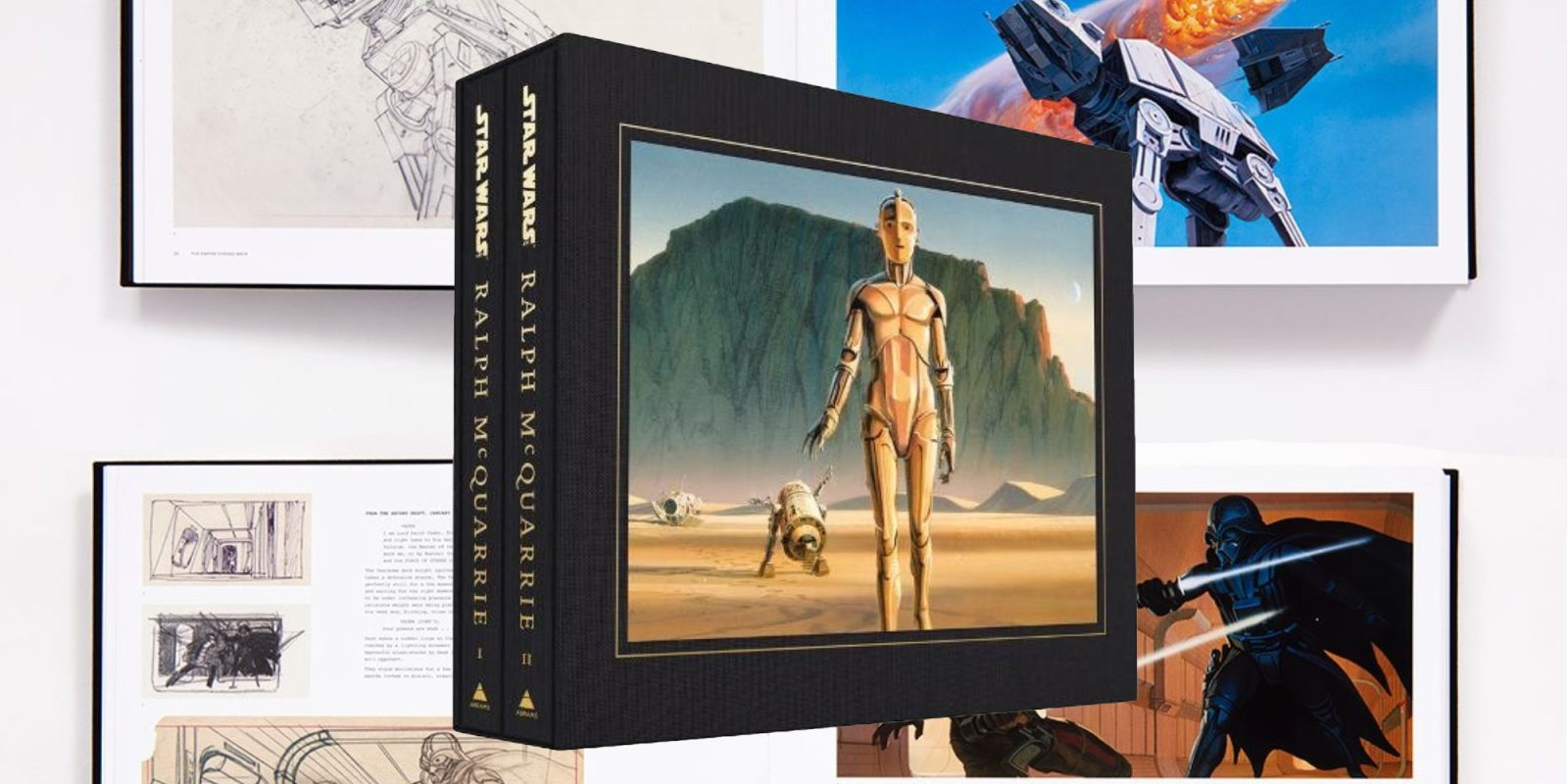 This 800-page hardcover Star Wars Art: Ralph McQuarrie book is down to $112 (Reg. $250)