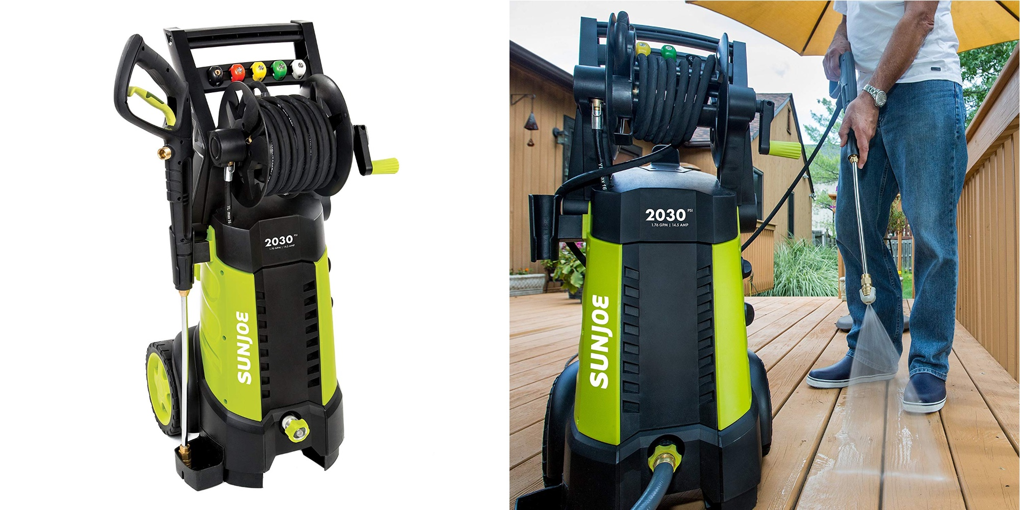 Sun Joe's 14.5A Electric Pressure Washer hits new Amazon low at $116 (Reg. $160)