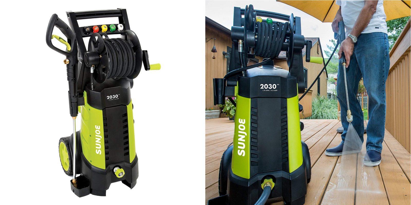 Sun Joe's 14 5A Electric Pressure Washer hits new Amazon low