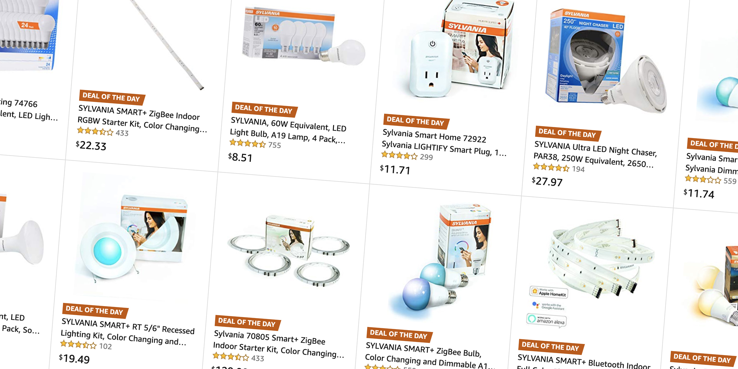 Get rid of your incandescent light bulbs, Sylvania HomeKit and LEDs 70% off in Amazon's Gold Box