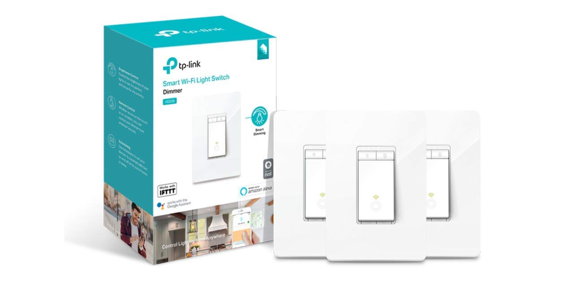 Outfit your smart home with three Alexa-enabled TP-Link Light Switches for $100 (Save $20)