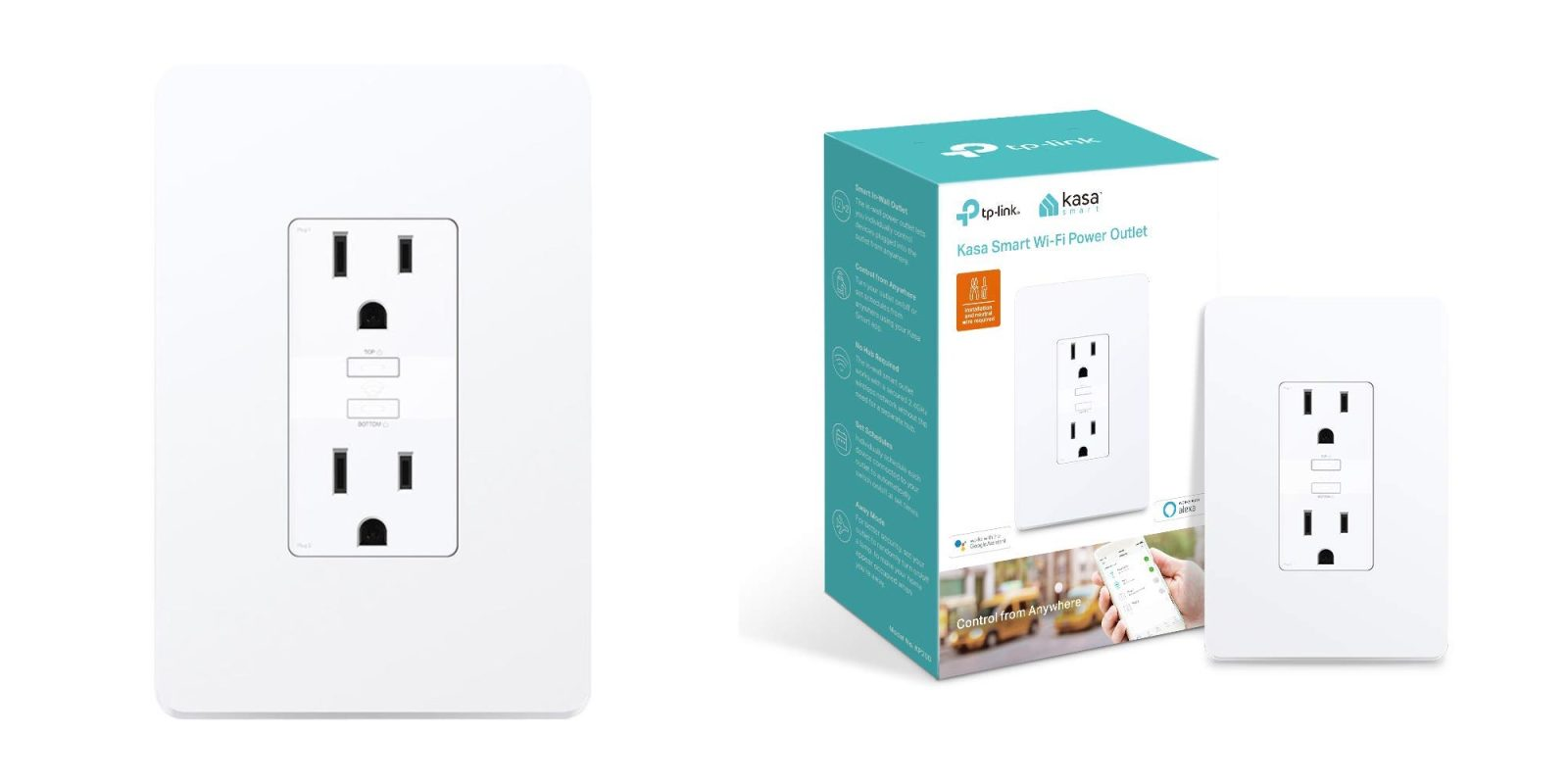 TP-Link's in-wall dual outlet smart plug drops to an Amazon low of $33 shipped (Reg. $40)