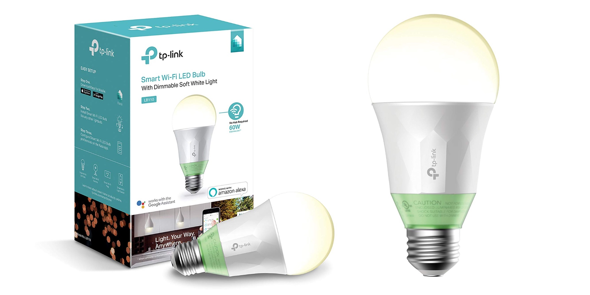 TP-Link's Alexa and Assistant-enabled Dimmable Light Bulb falls to $15 Prime shipped (25% off)