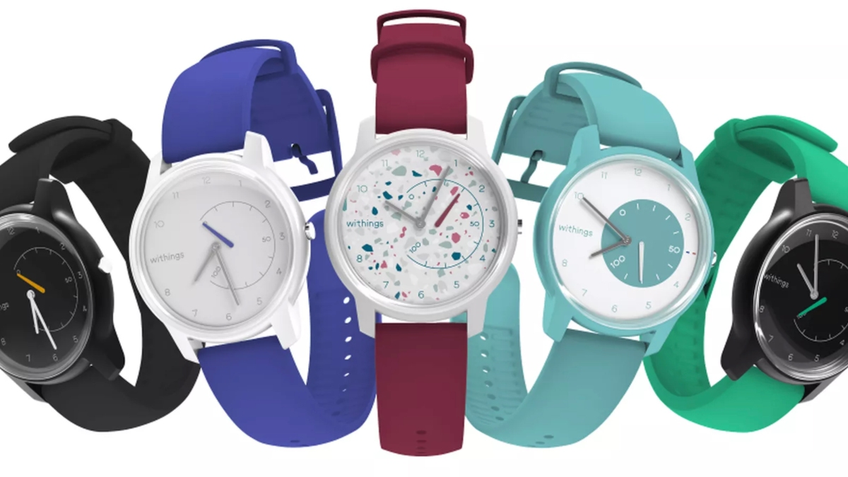 Withings Move Fitness Tracker all colors