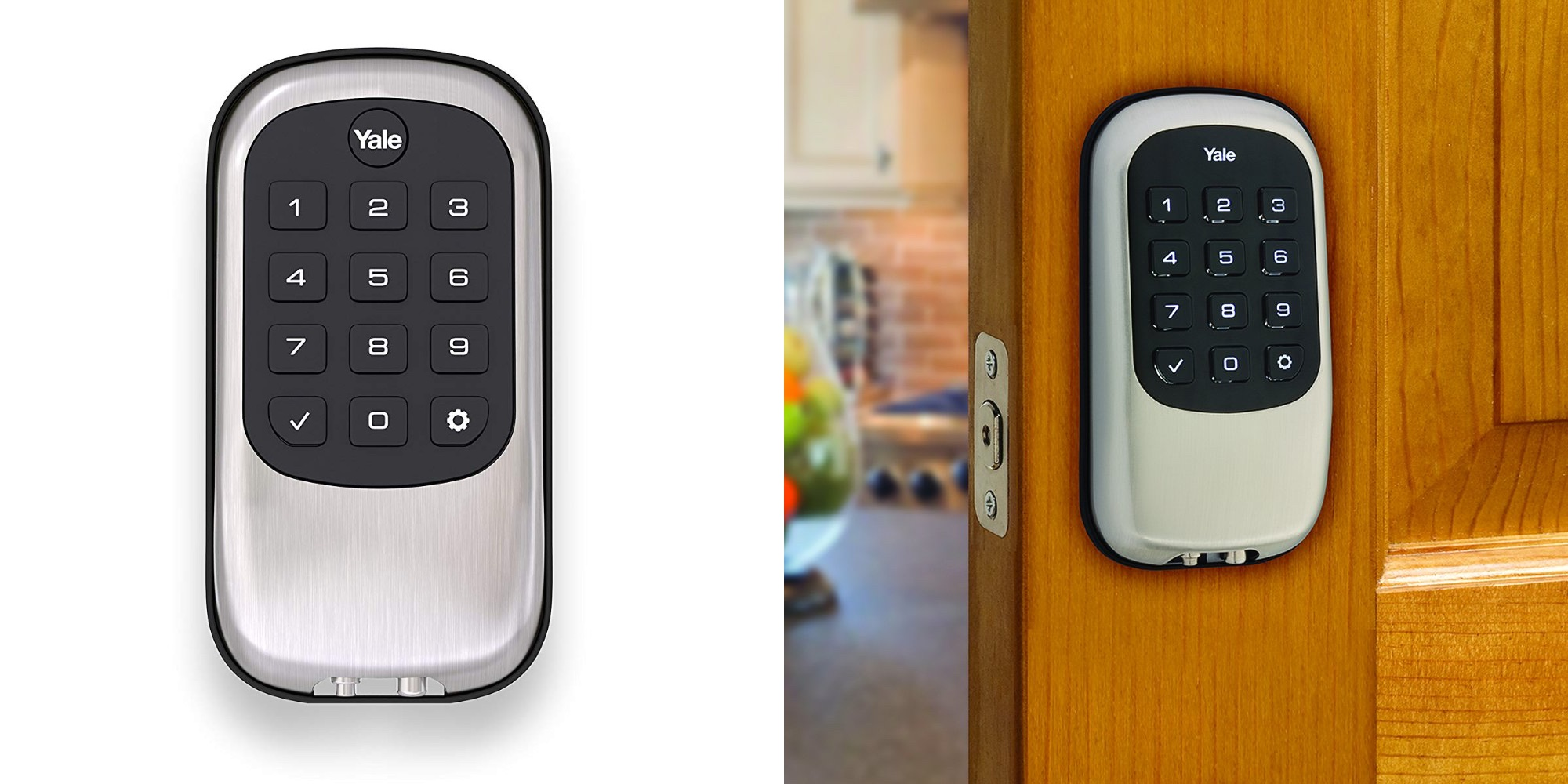 Score Yale's Z-Wave Push Button Deadbolt at one of its lowest prices yet: $84 (Reg. $115)