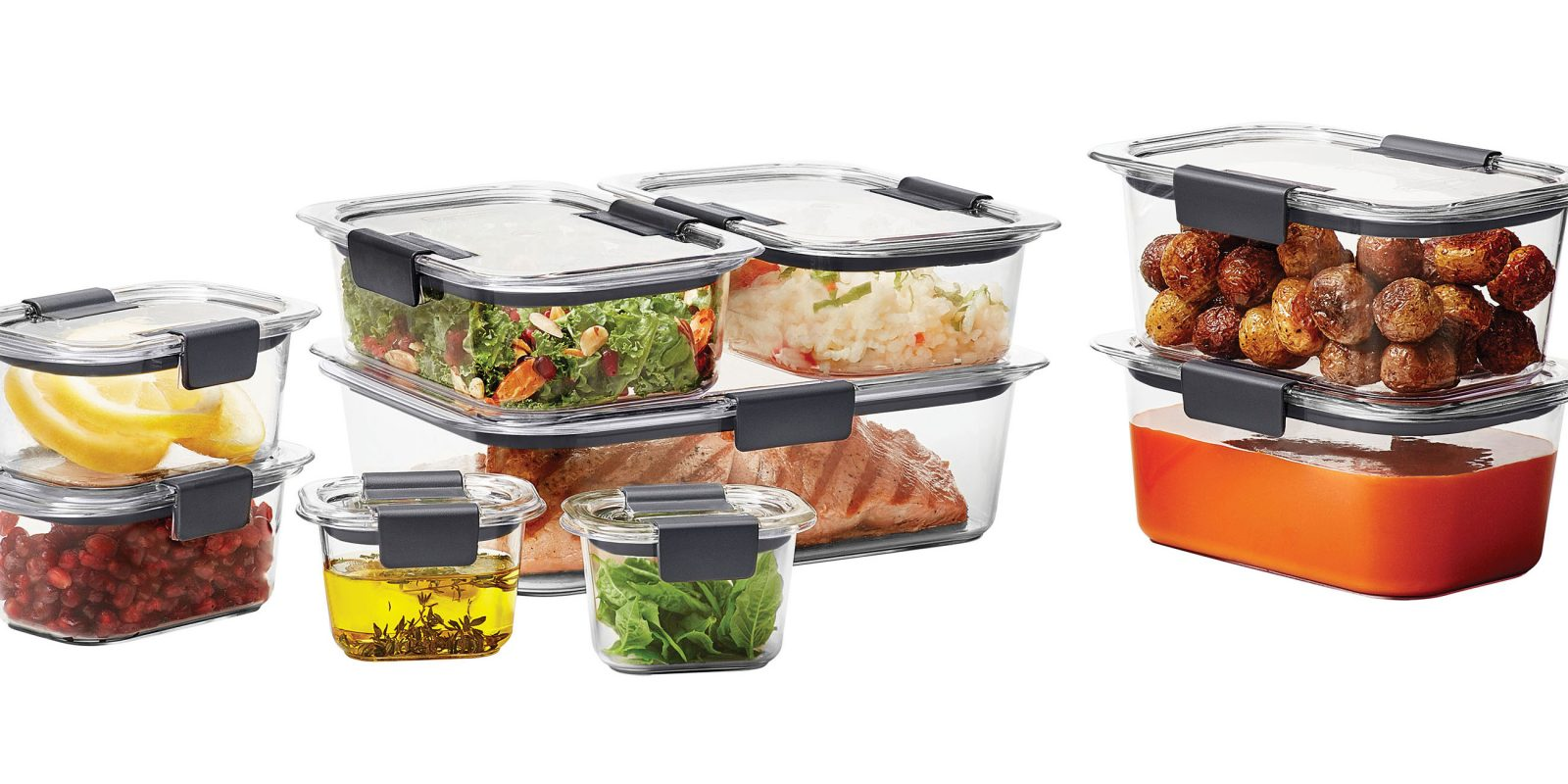 Upgrade your food storage w/ this Rubbermaid 18-piece set for $19 (Reg. $30+)