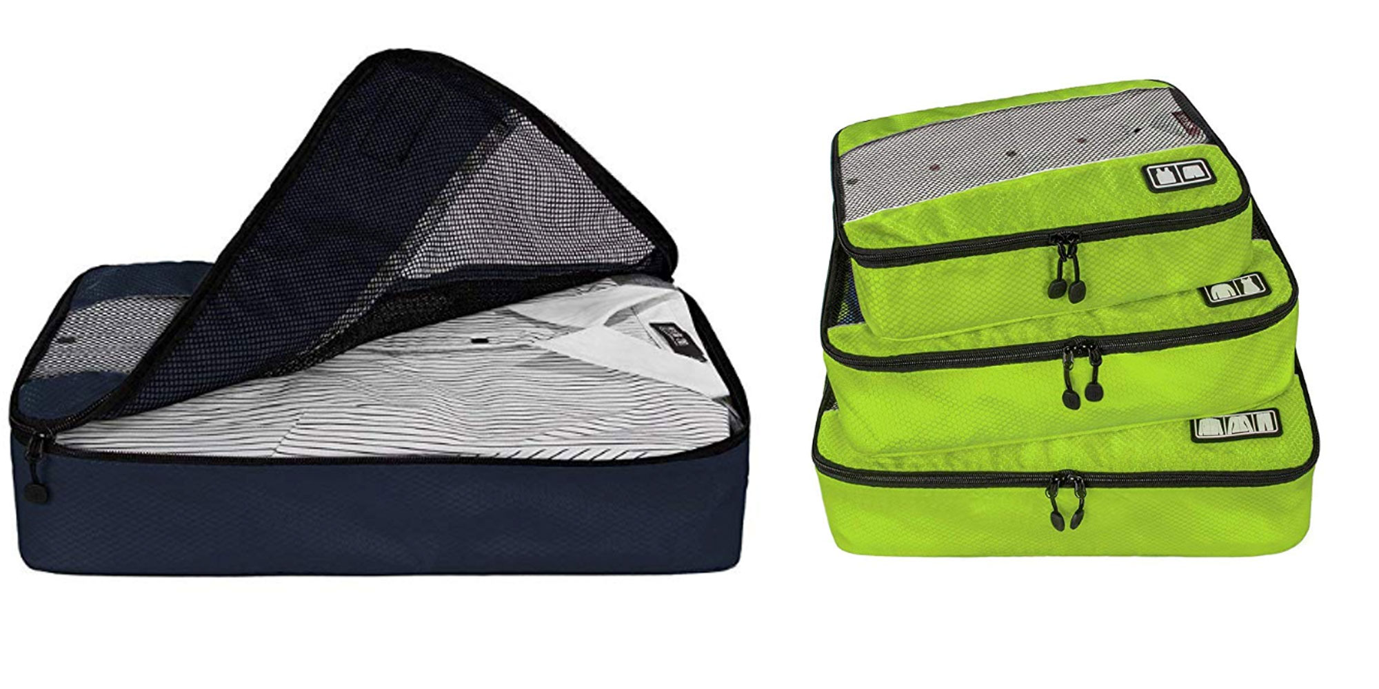 This 3-pack of BAGSMART travel packing cubes is a must-have for summer trips: $13.50 (Reg. $30)