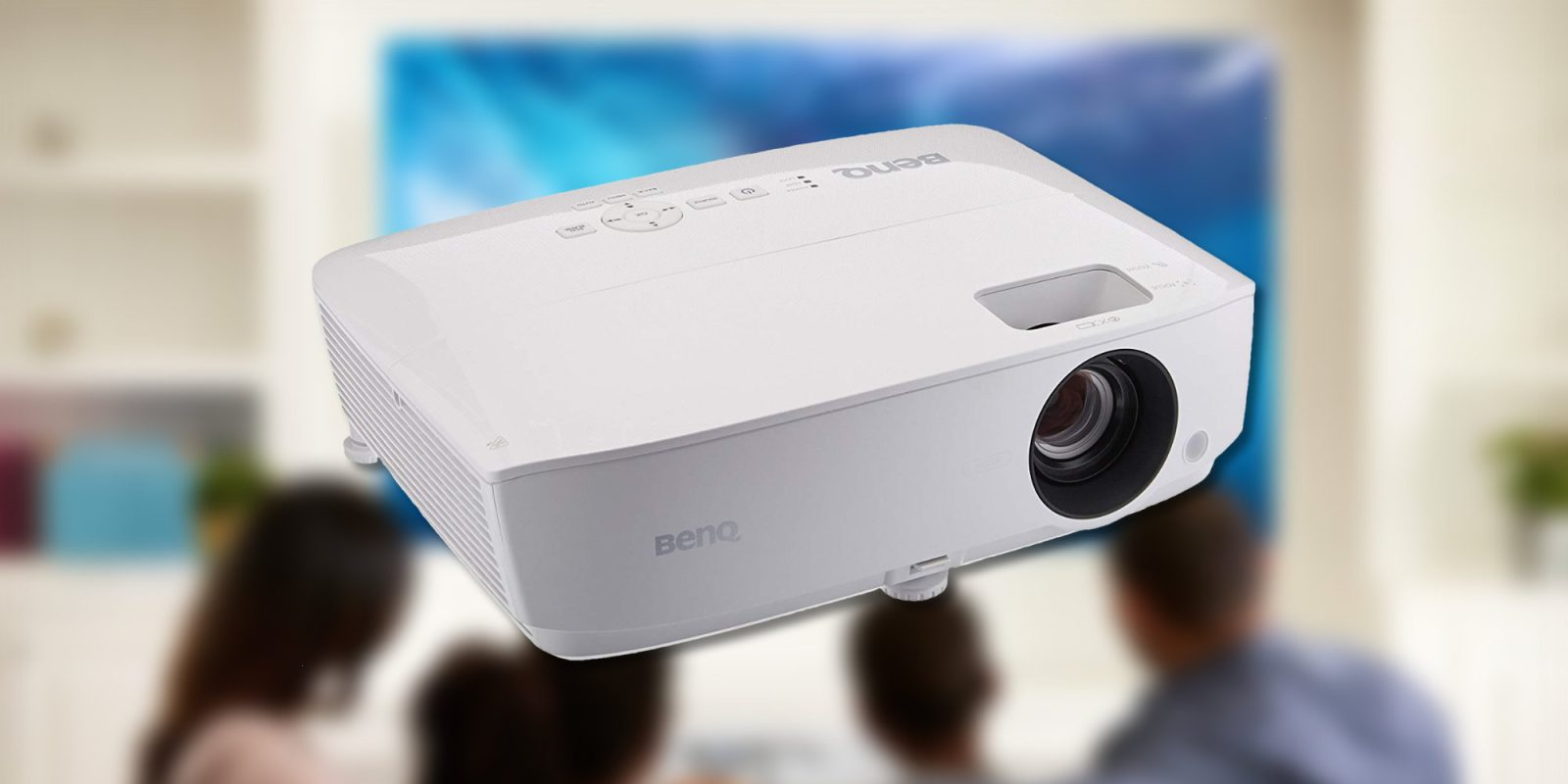 Build an affordable home theater starting w/ this $399 BenQ 1080p Projector (Save $90)