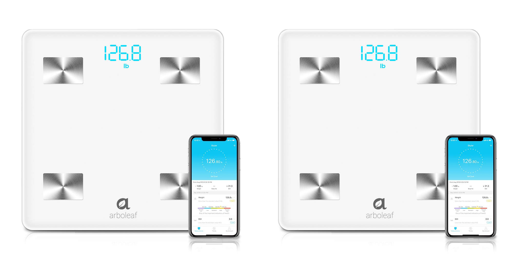 Track your weight in Apple Health or Google Fit w/ this $30 Bluetooth smart scale
