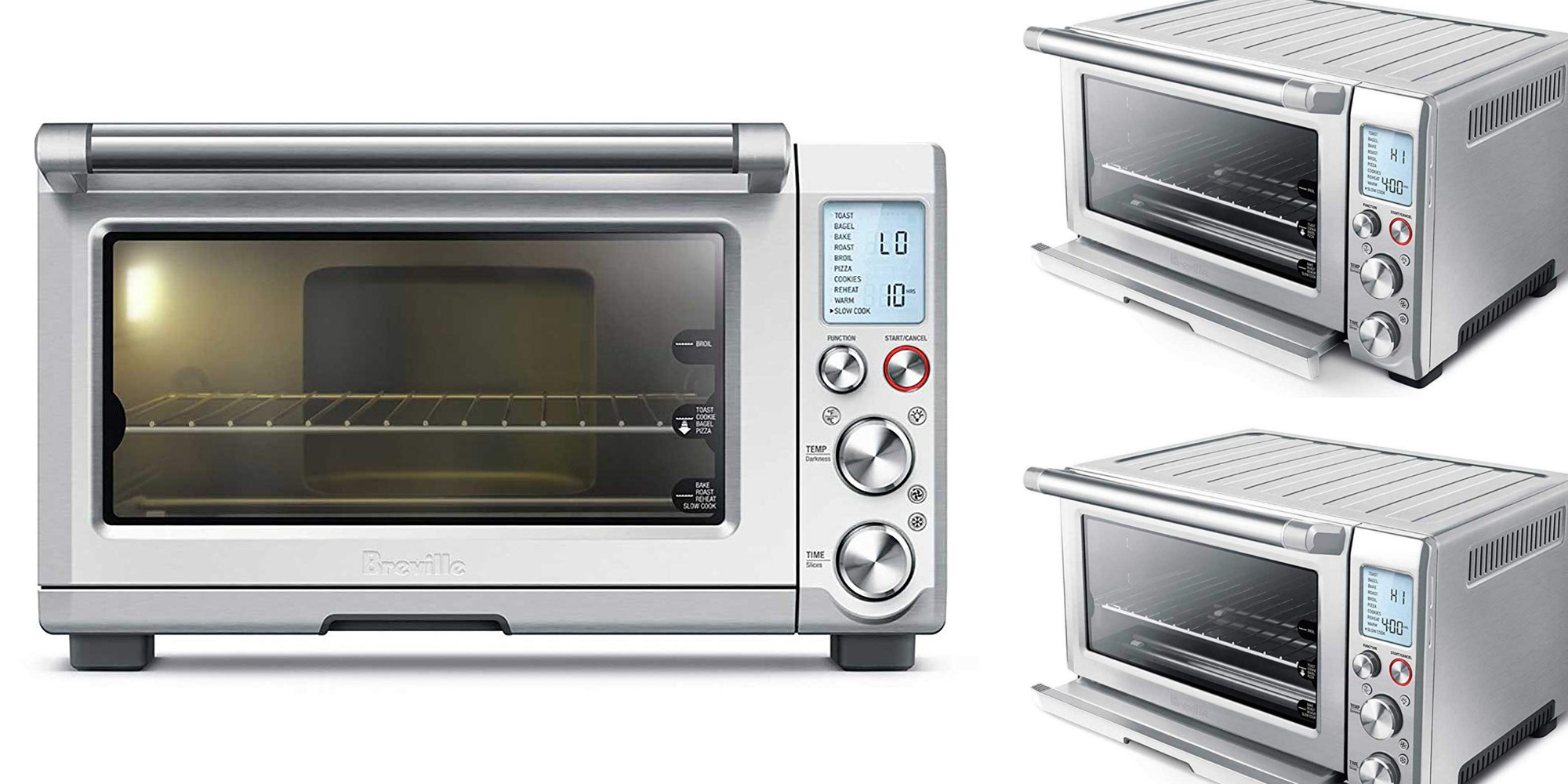 Breville Smart Pro Convection Toaster Oven Deals From 144