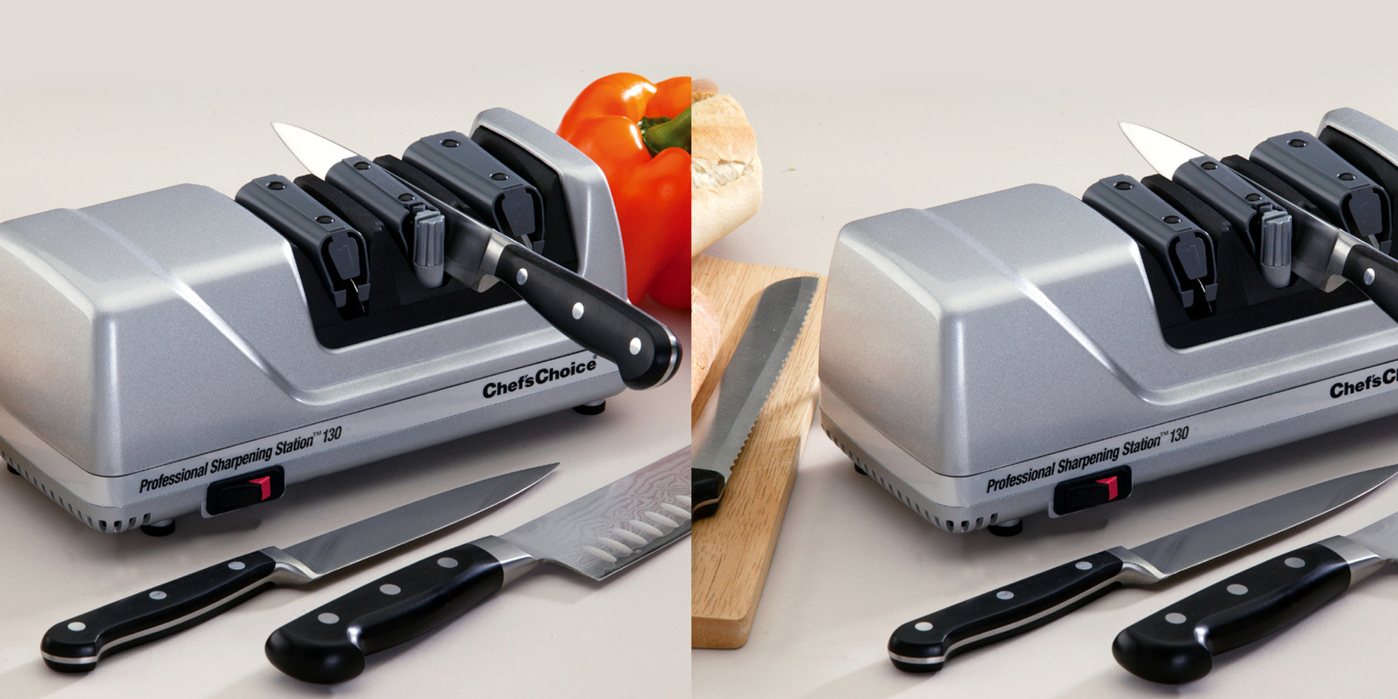 The Chef'sChoice 130 Electric Sharpener will keep your ...