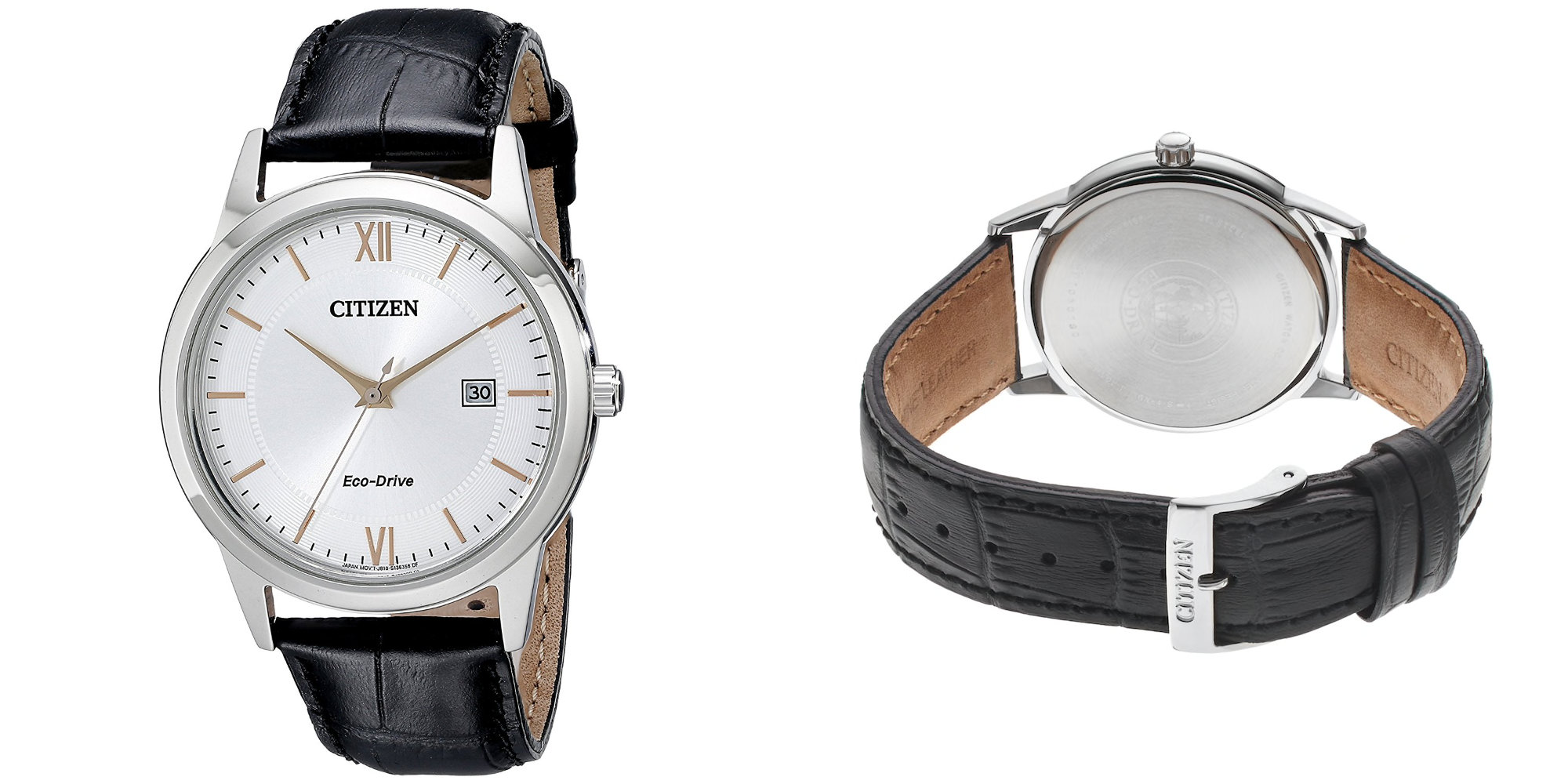 This stainless steel Citizen Eco-Drive Watch is powered by light: $69 at Amazon (Reg. $100+)