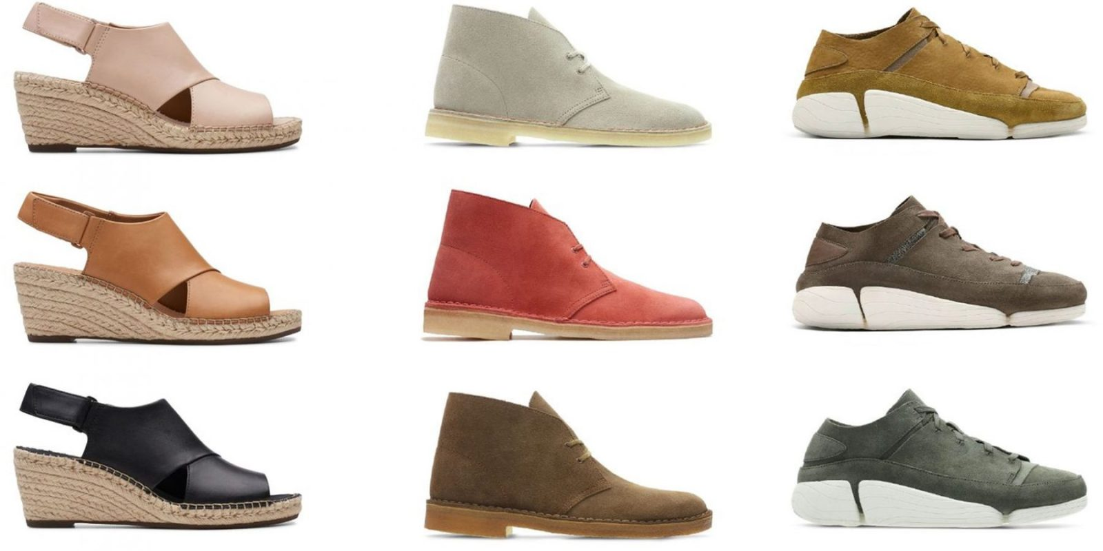 bccbcae1798 The Clarks Big Spring Sale cuts 20% off sitewide with dress shoes, sandals,  sneakers & more