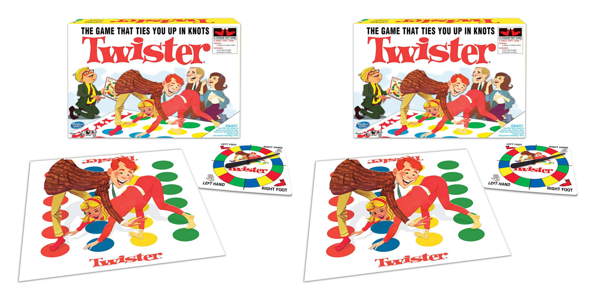 Remember Twister? The classic board game is now just $12 Prime shipped (Reg. up to $20), more
