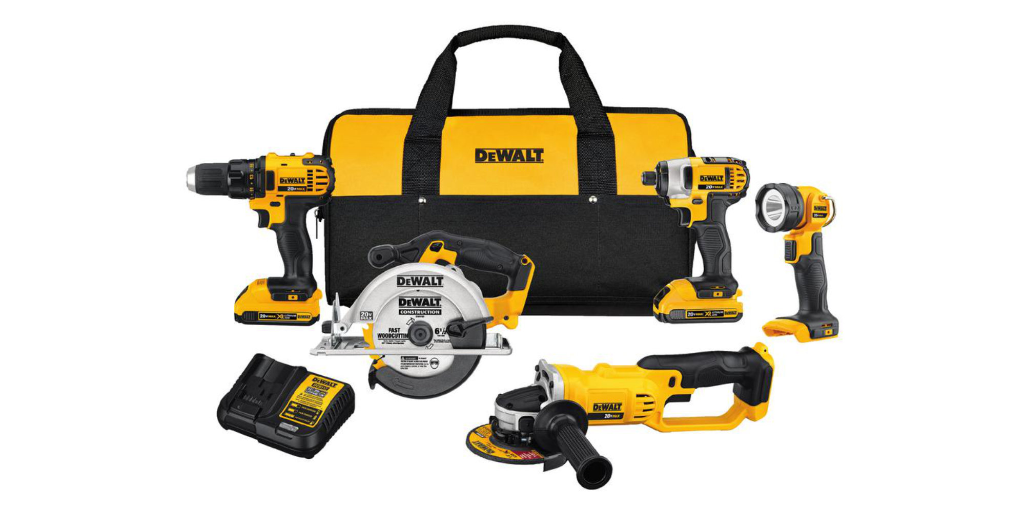 Amazon slashes $180 off DEWALT's 5-Tool Combo Kit at $349, more from $99