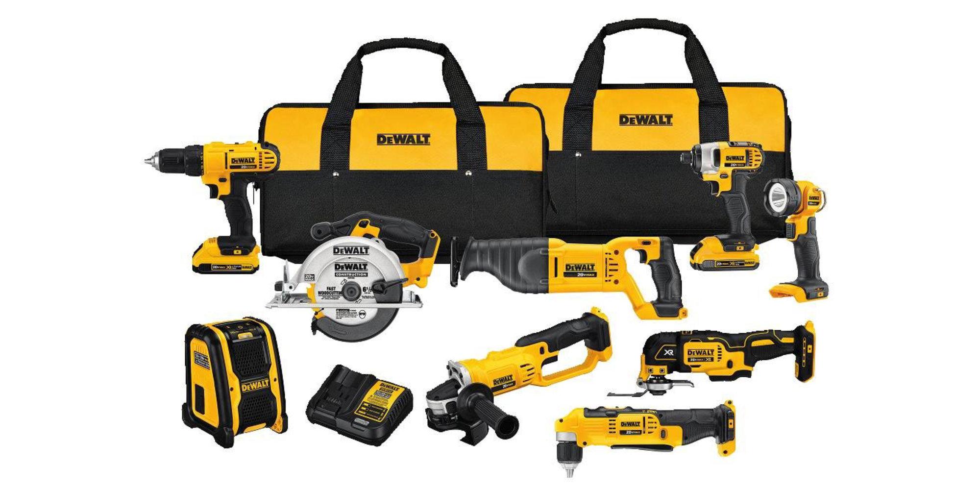 Get it all w/ DEWALT's 20V MAX 9-Tool Combo Kit: $529 shipped (Reg. $669+)