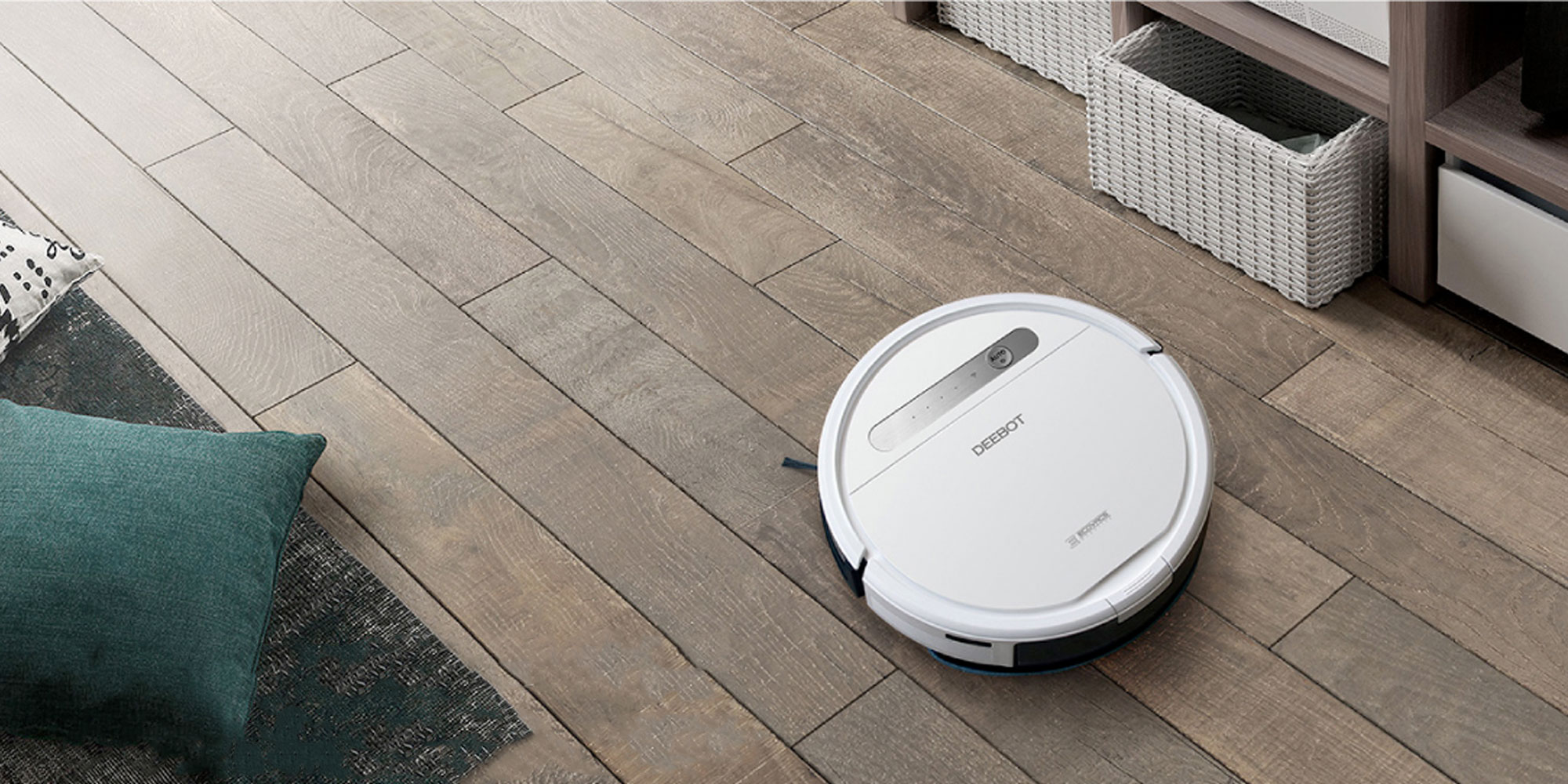 DEEBOT's robotic vacuum & mop cleans w/ just your voice at $280 (Reg. $400), more from $108