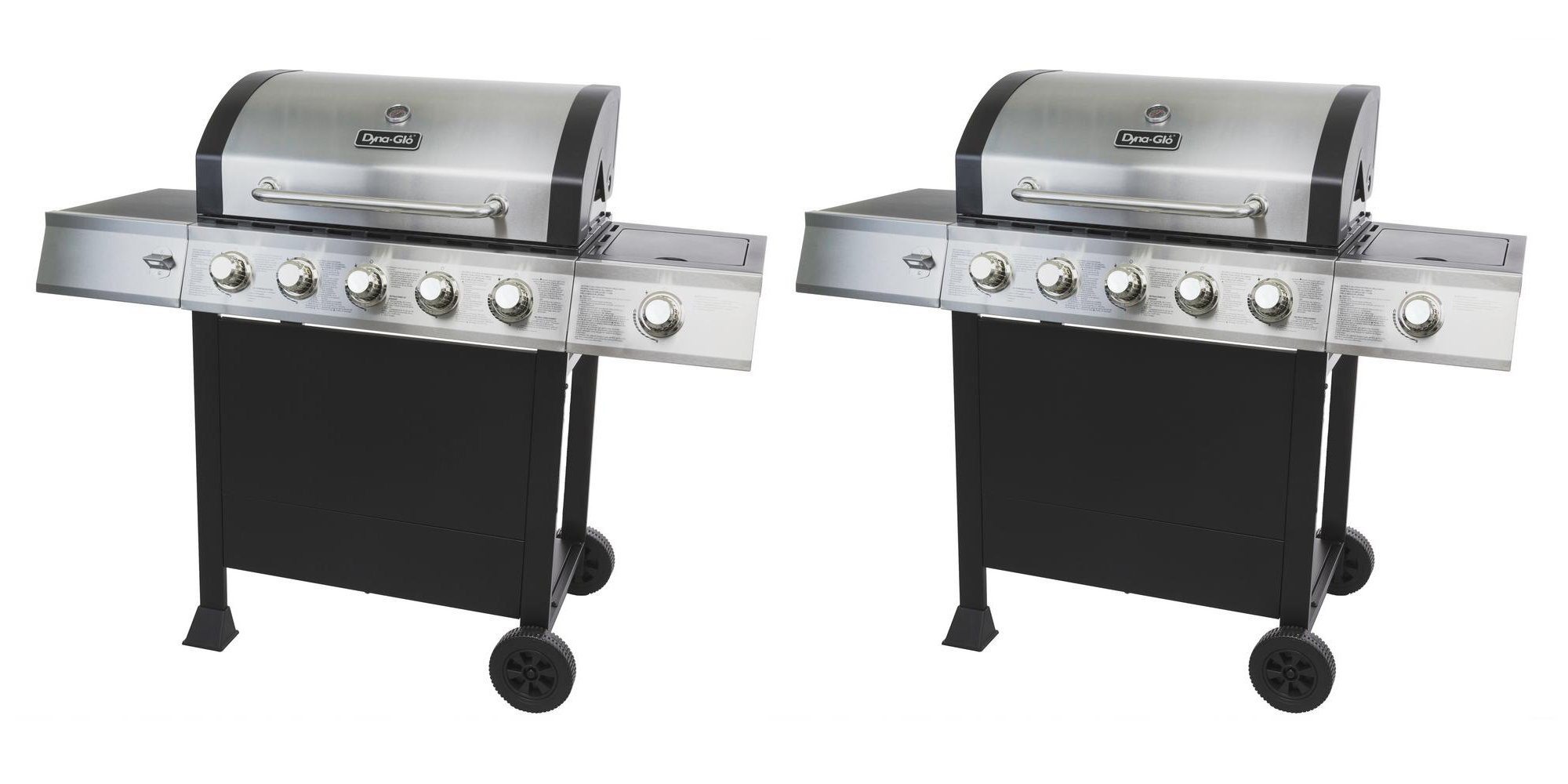 Up to 25% off grills & BBQ accessories: Dyna-Glo 5-Burner Propane $56 off + more