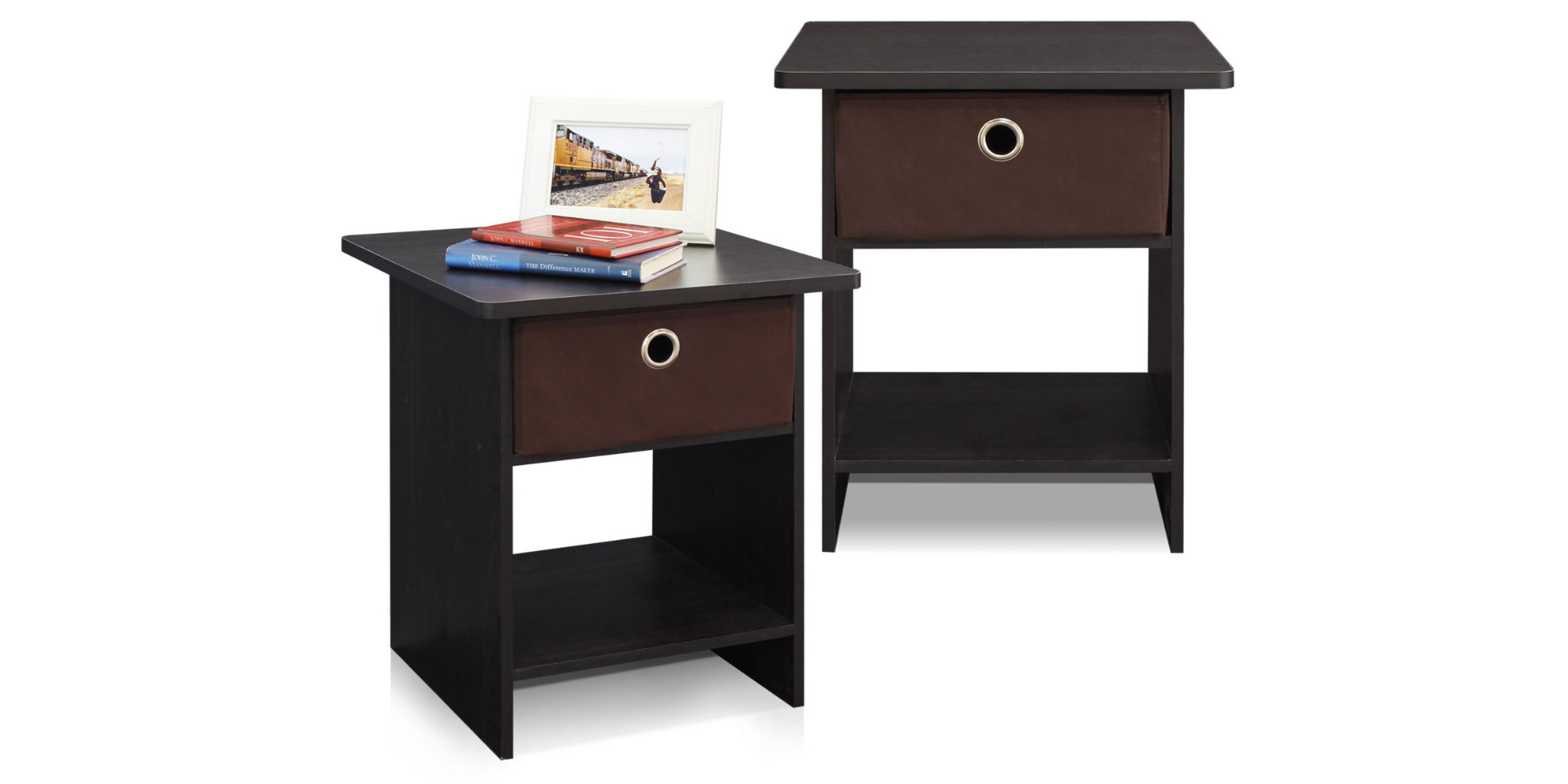 Score two Furinno Nightstands at Amazon for just $13.50 each (Save 40%)