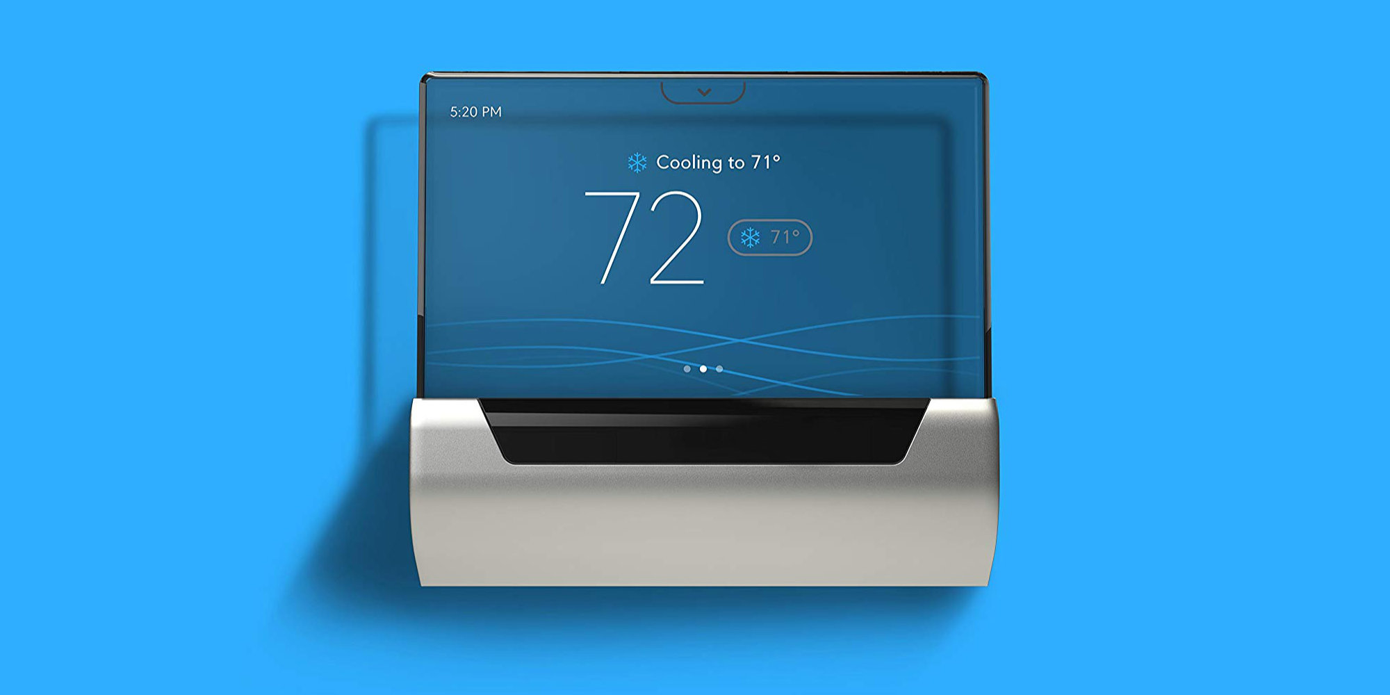 The GLAS Smart Themostat takes on Nest w/ an elegant design of its own: $200 (All-time low)