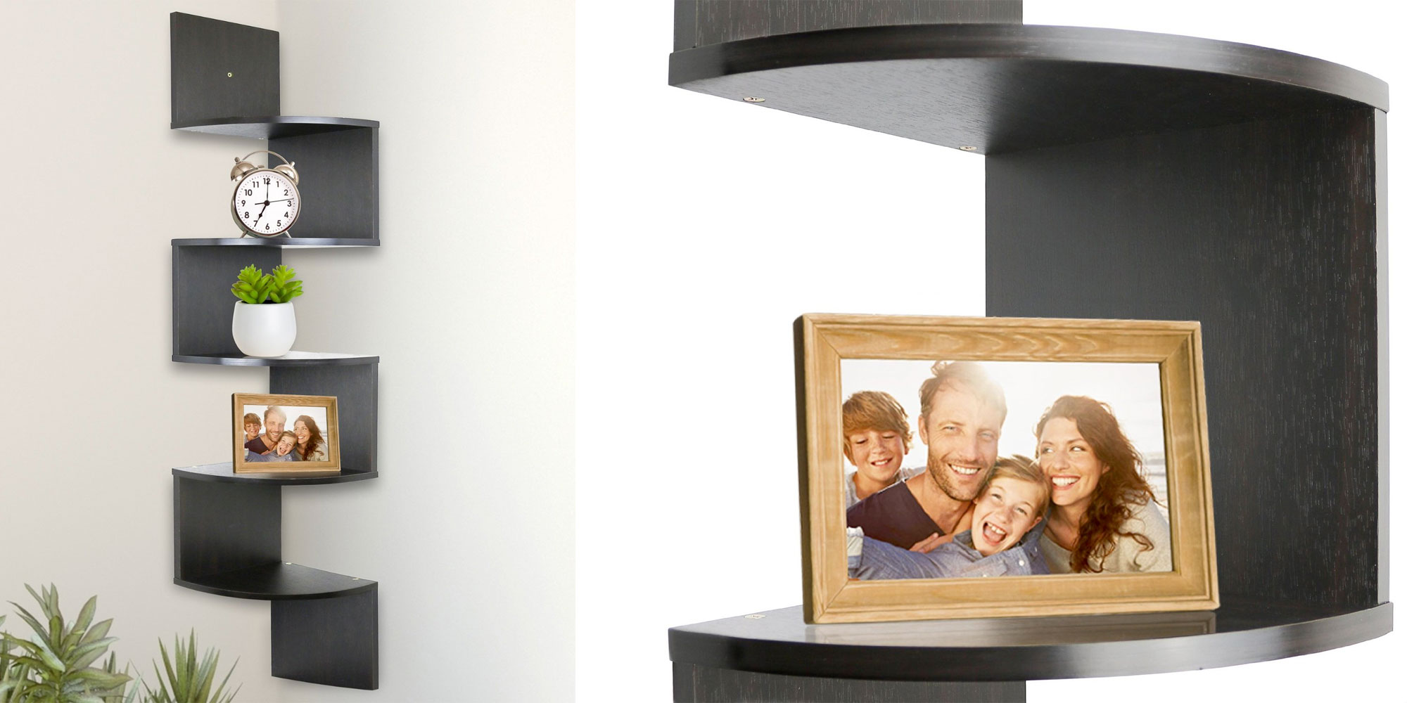 This corner shelf is the perfect way to display your growing Funko Pop! collection & more for $15