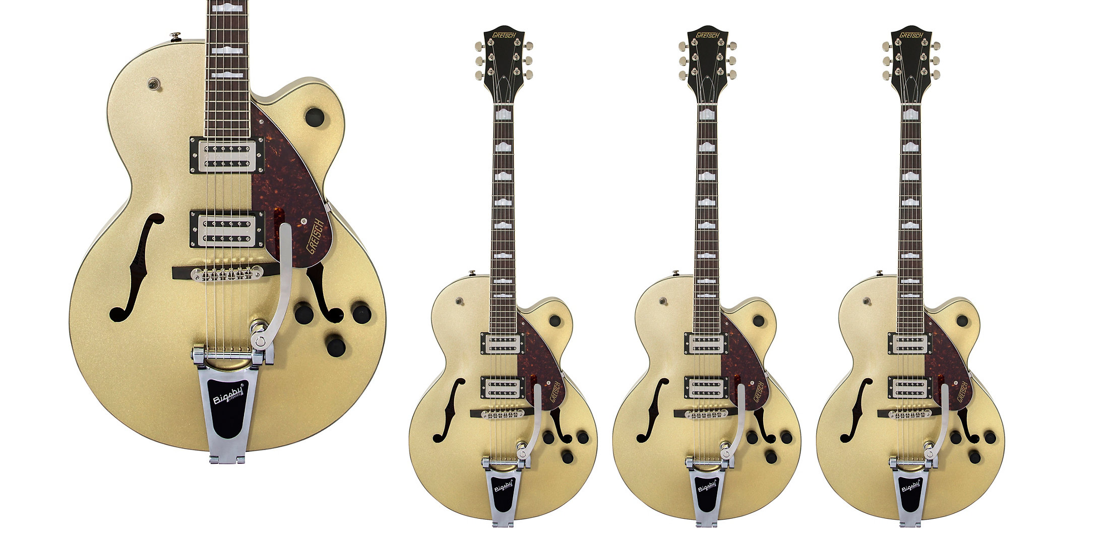 Gretsch's Gold Dust Streamliner Electric Guitar is $230 off today: $320 (Reg. $550+)