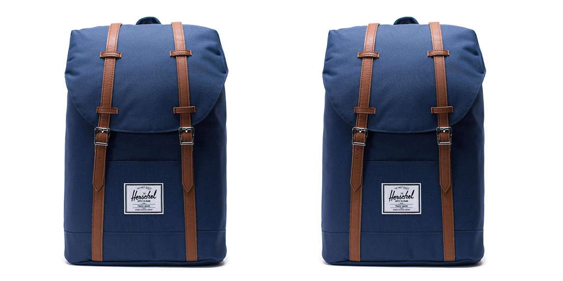 8b709161a Herschel's Retreat Backpack stylishly totes your MacBook from $50 shipped  at Amazon