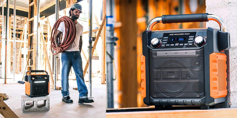 Ion S Garage Bluetooth Speaker Has All Your Jobsite Audio