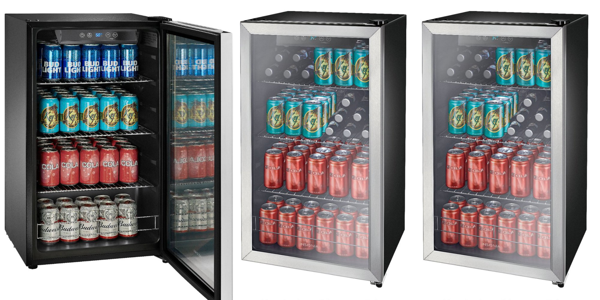 Keep the beer cold this summer, Insignia's 115-Can Mini Fridge is $100 off: $180 shipped
