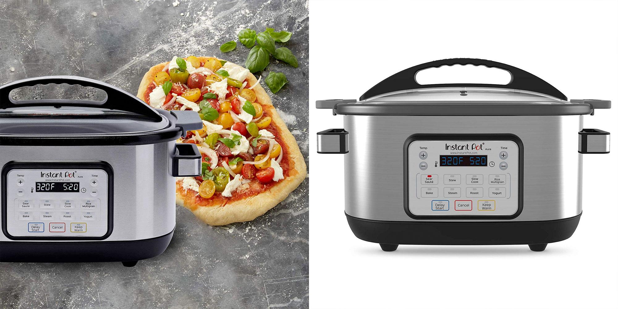 Instant Pot's 6-Quart Aura Multi Cooker gets a deep 60% price drop from $51 (Reg. $130)