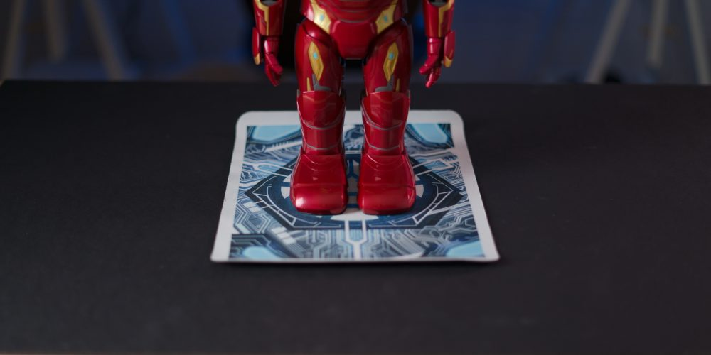Iron Man MK50 Robot Tracking Mat