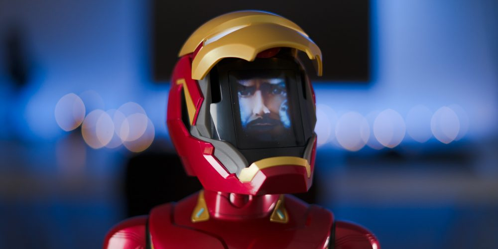 Iron Man MK50 Robot mask open