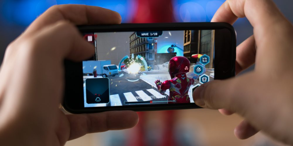 Iron Man MK50 Robot AR game