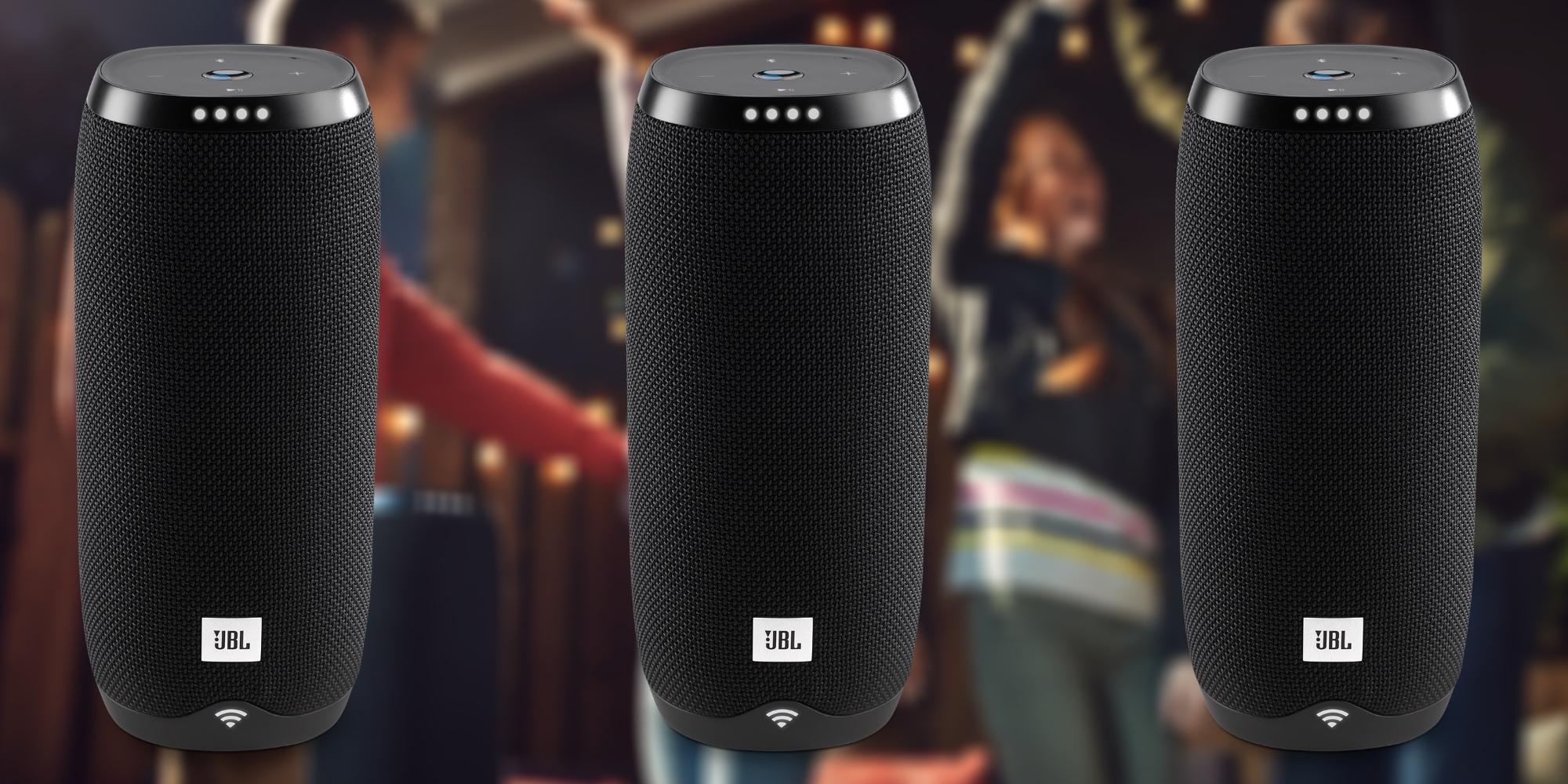 Summon Google Assistant on-the-go w/ JBL's Link 20 Smart Speaker at $50 (Cert. Refurb, Orig. $200)