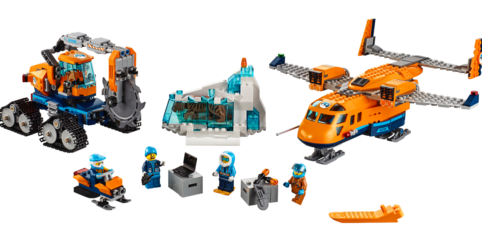 Assemble The Lego City Arctic Supply Plane At An Amazon Low Of 64