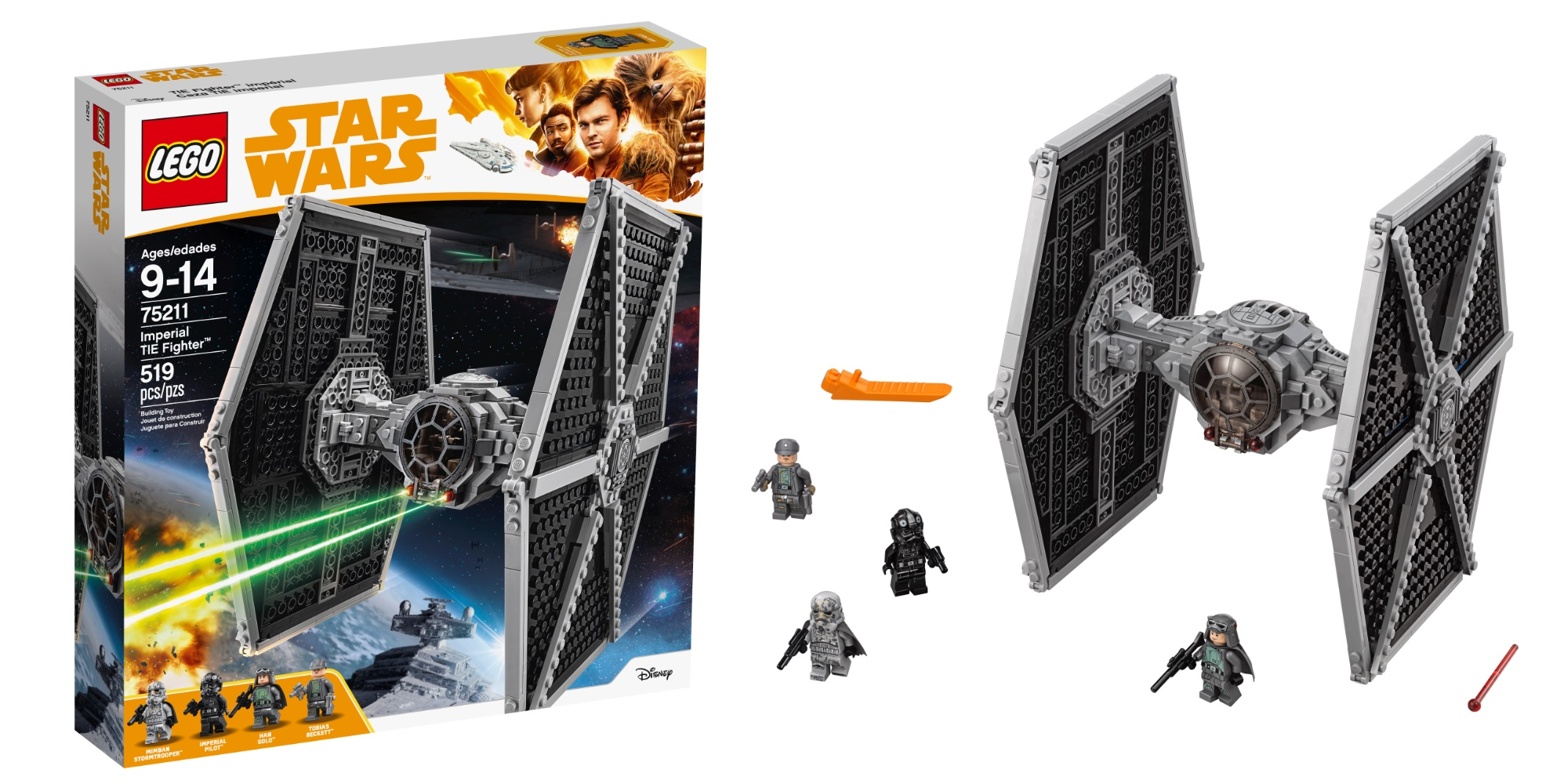 Save 25% on LEGO's Star Wars Imperial TIE Fighter at $45 shipped, plus more kits from $8