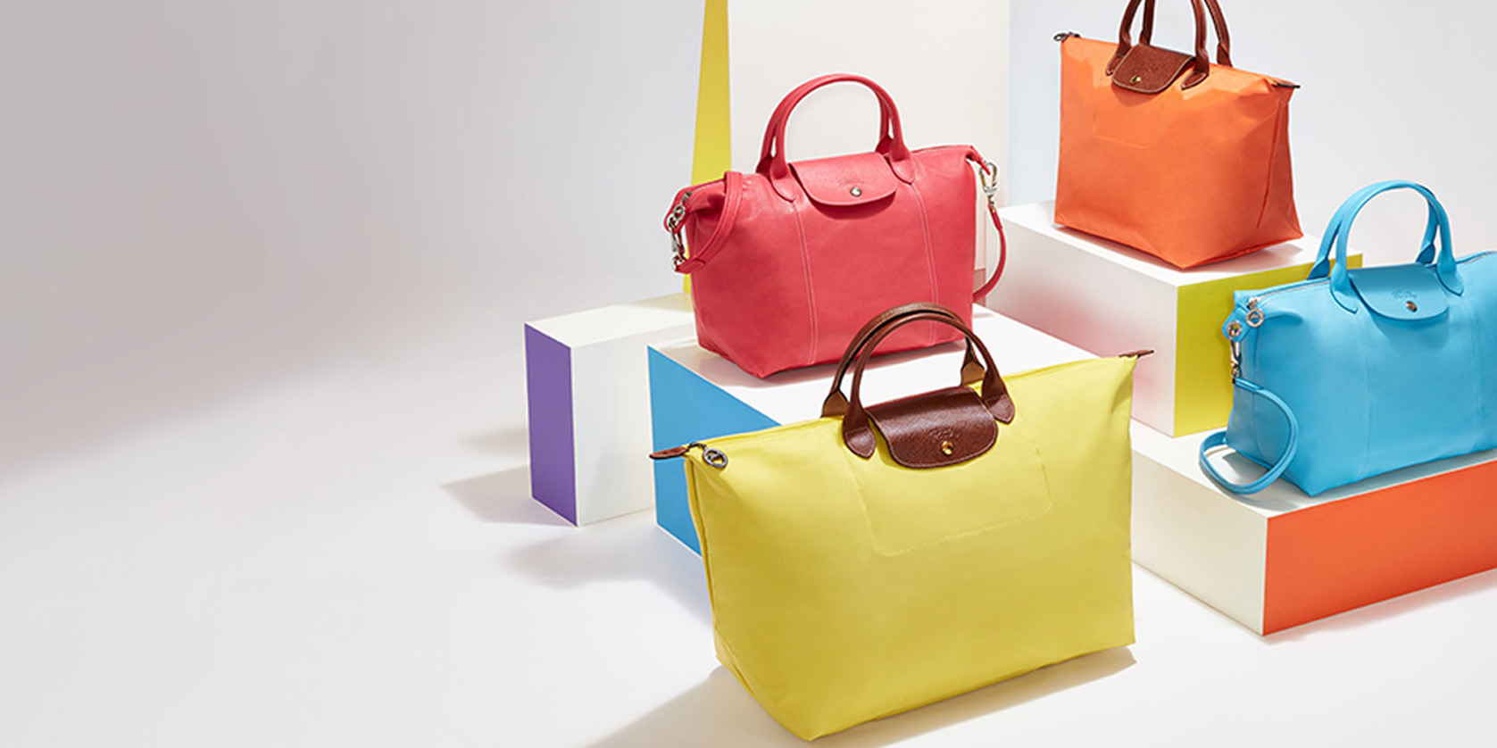 Today only, Nordstrom Rack discounts an array of Longchamp handbags, luggage & more from $55