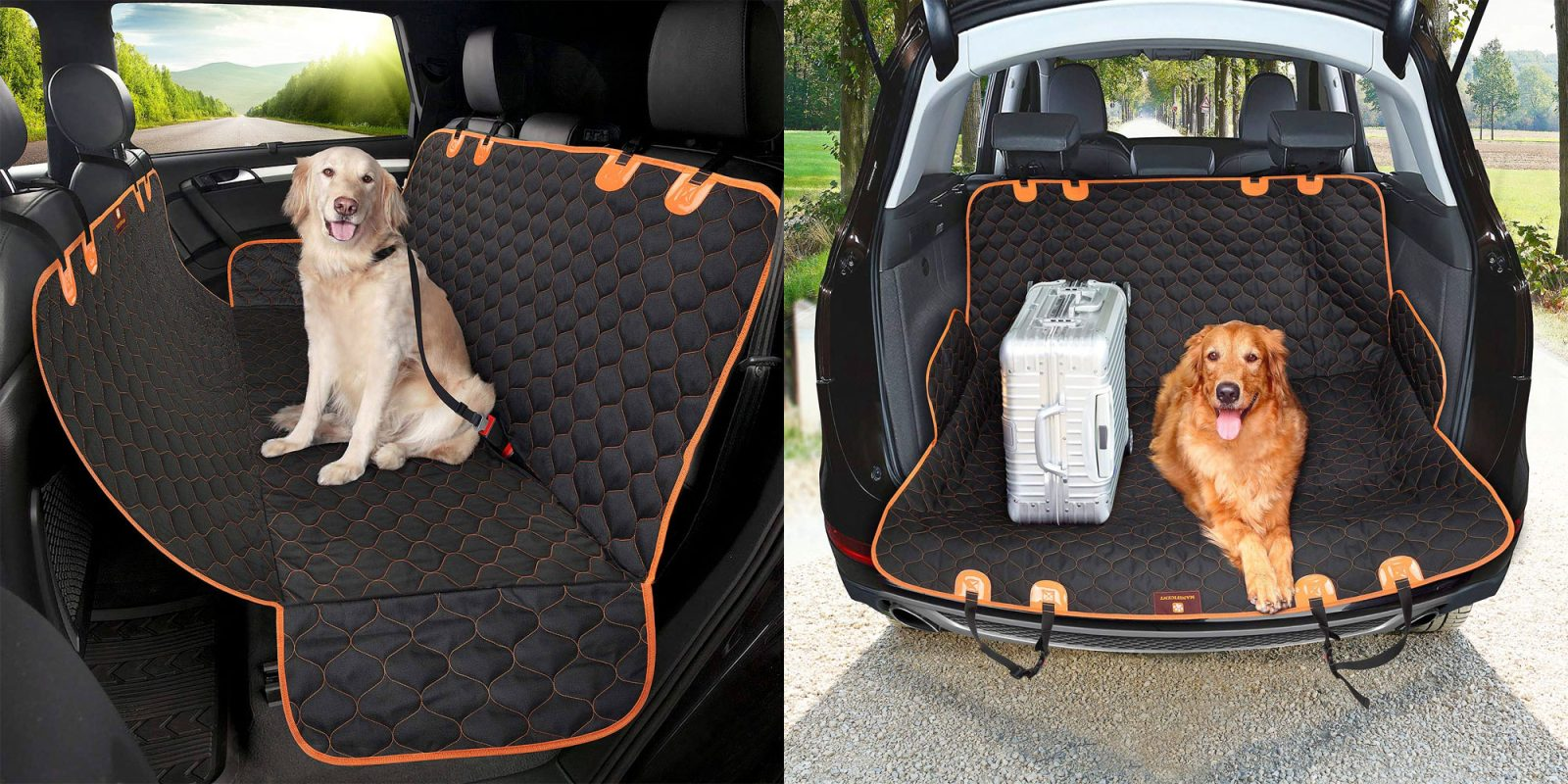 Make cleaning up after your pet in the car a breeze w/ this