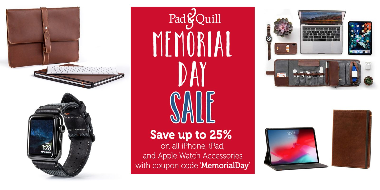 Pad & Quill Memorial Day iOS Accessories Sale up to 25% off: Cases, folios, more