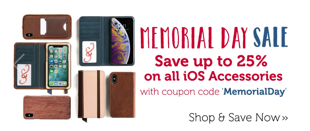 Pad & Quill Memorial Day iOS accessories sale now live