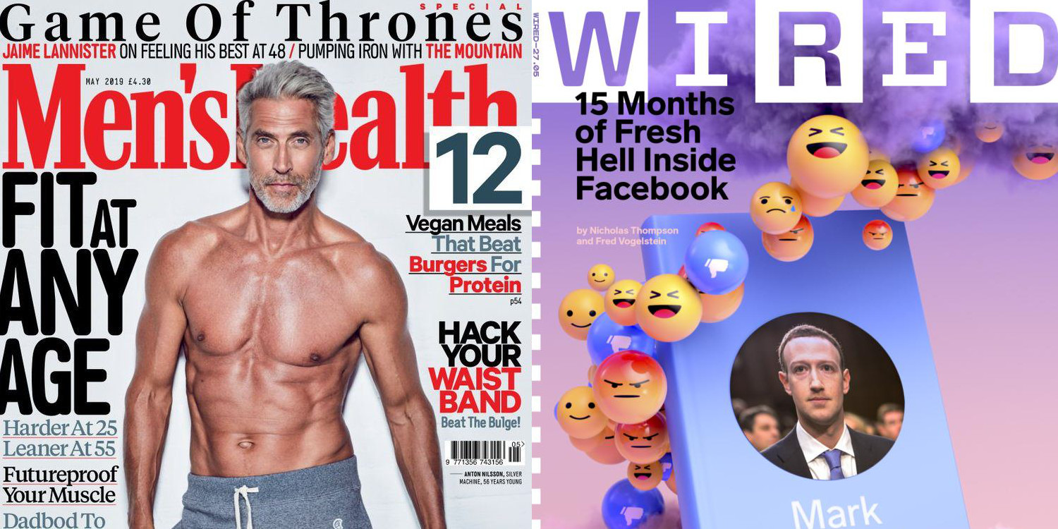 Memorial Day magazine deals from $4.50/yr: Wired, Bon Appetit, Men's Health, GQ, many more