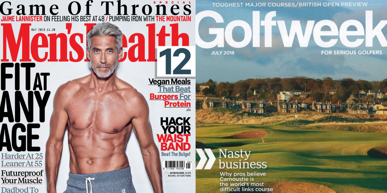 Magazine subs from $2.50/yr. including Men's Health, Golfweek, Astronomy, more